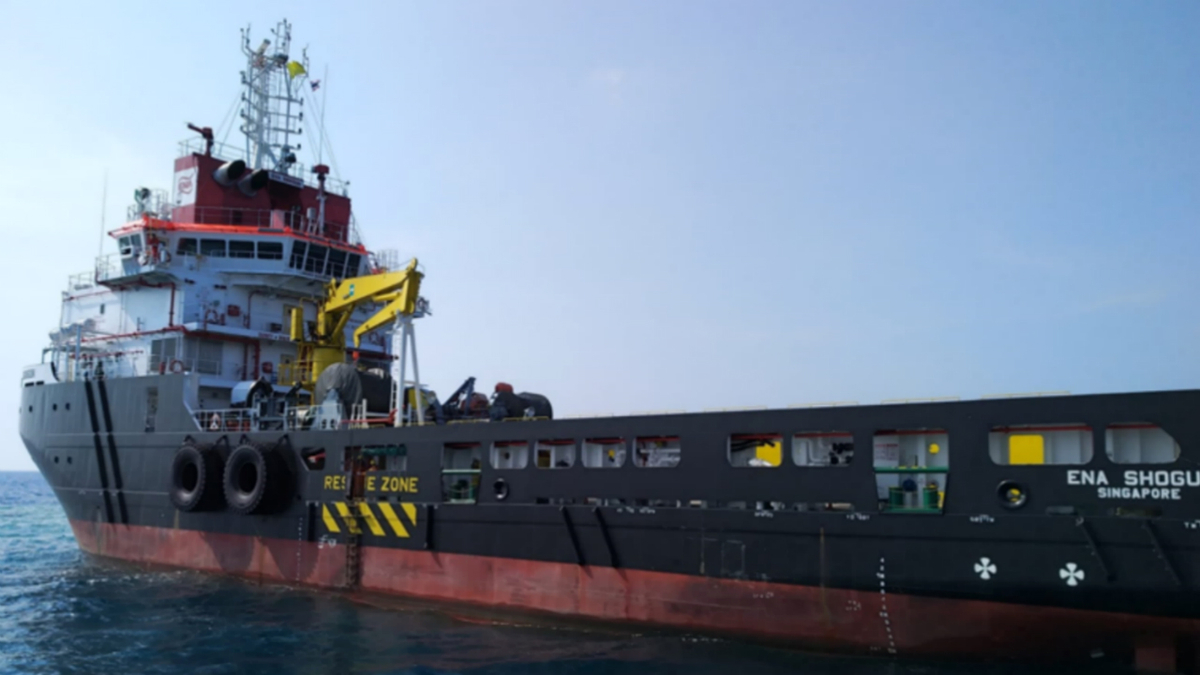 VOS Singapore will manage the AHTS vessel ENA Shogun