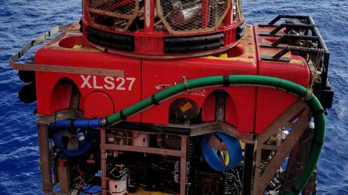 Helix will use an XLS ROV to detect UXO on the Neart na Gaoithe windfarm