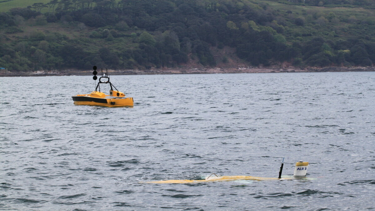 Sonardyne's joint project yields results for AUV endurance and precision