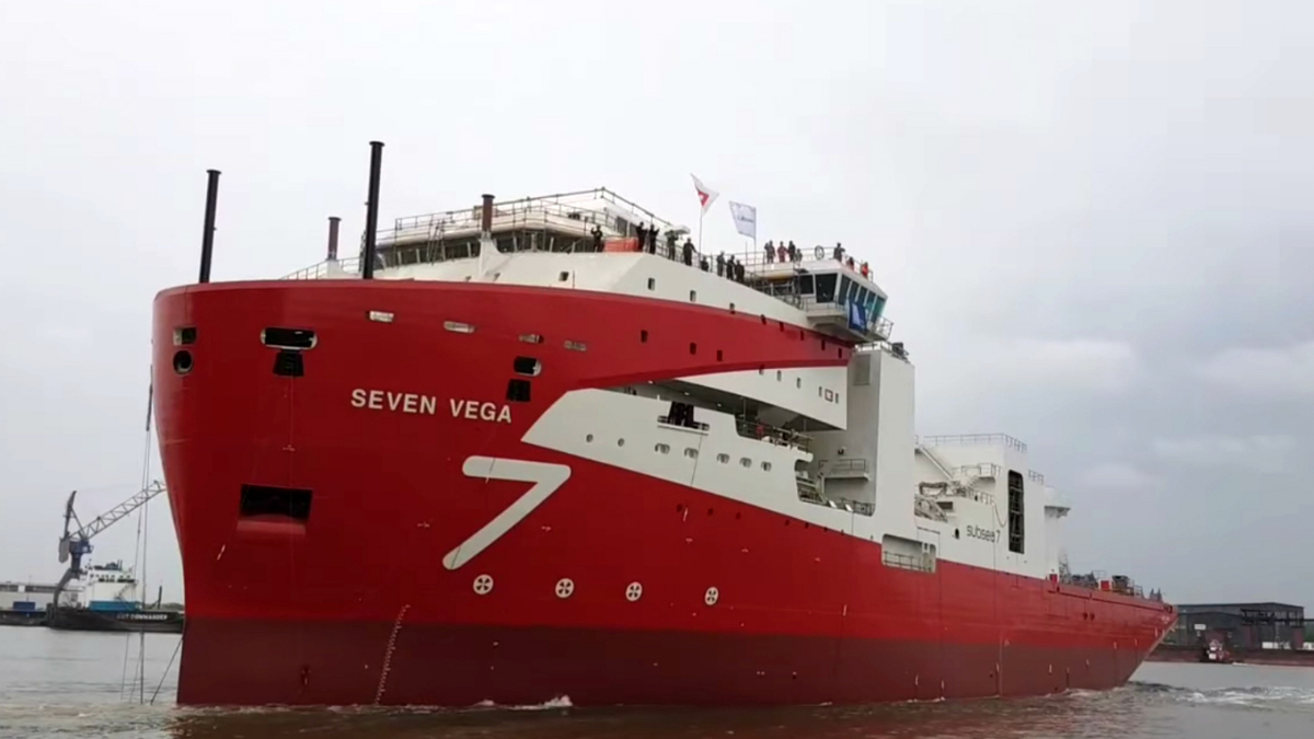 Seven Vega was launched in May at Royal IHC