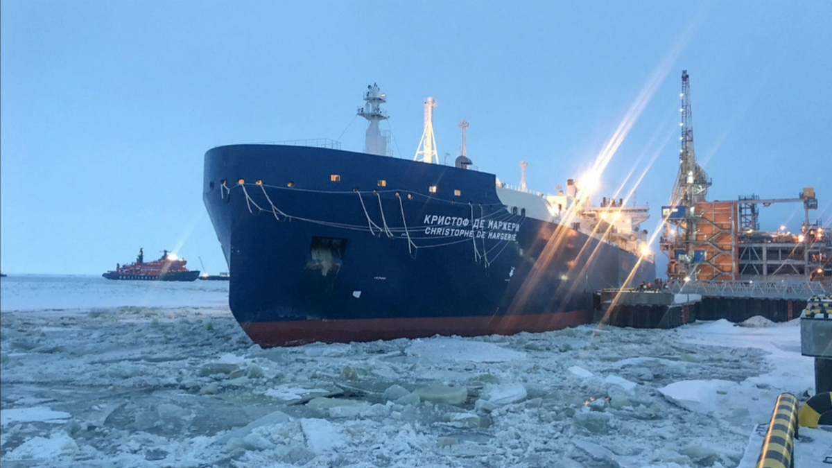Owned by Sovcomflot, Christophe de Margerie is one of 15 icebreaking LNGCs serving Yamal LNG