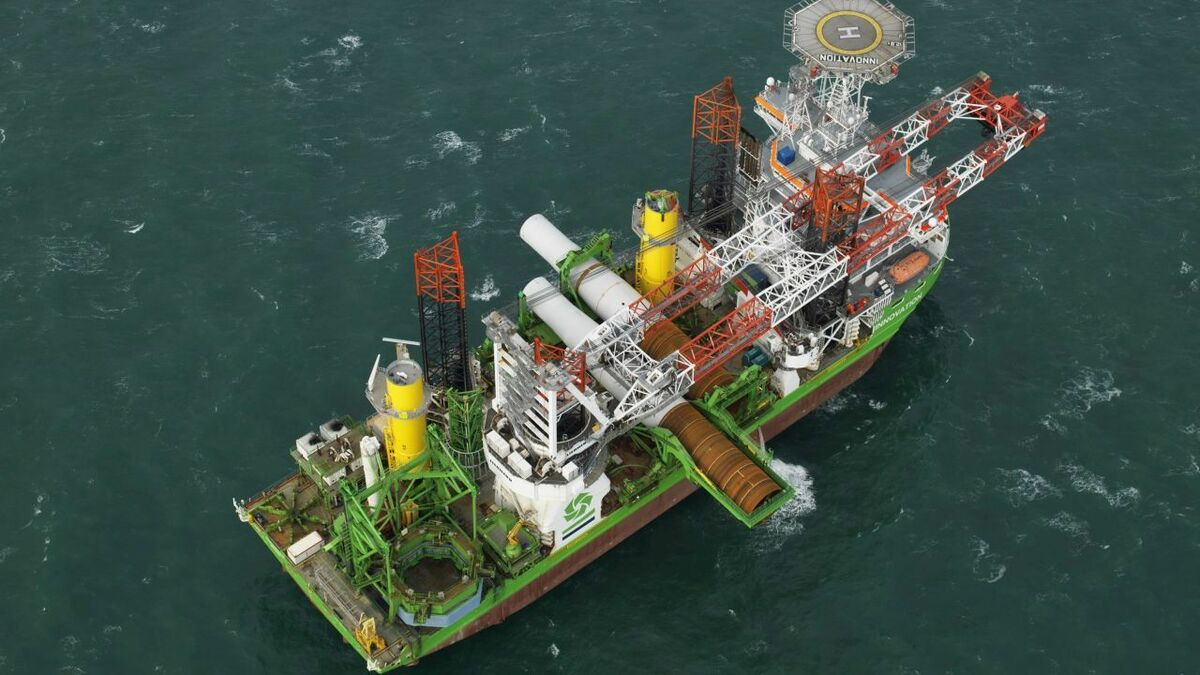Construction of Ørsted's first Dutch offshore windfarm underway