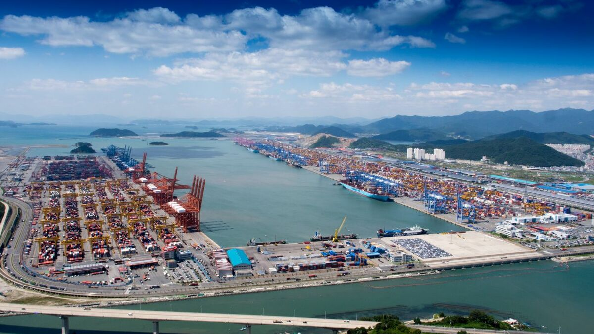 Busan is aiming to improve its transhipment competitiveness