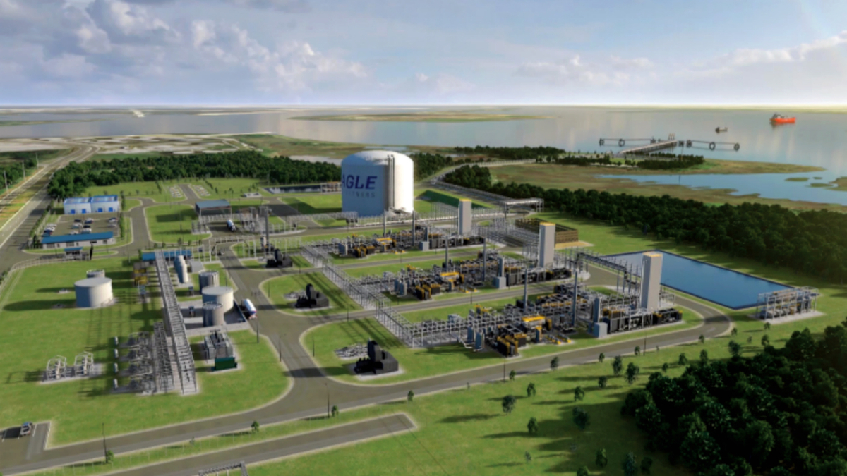 Contract underpins new small-scale LNG export facility in Florida
