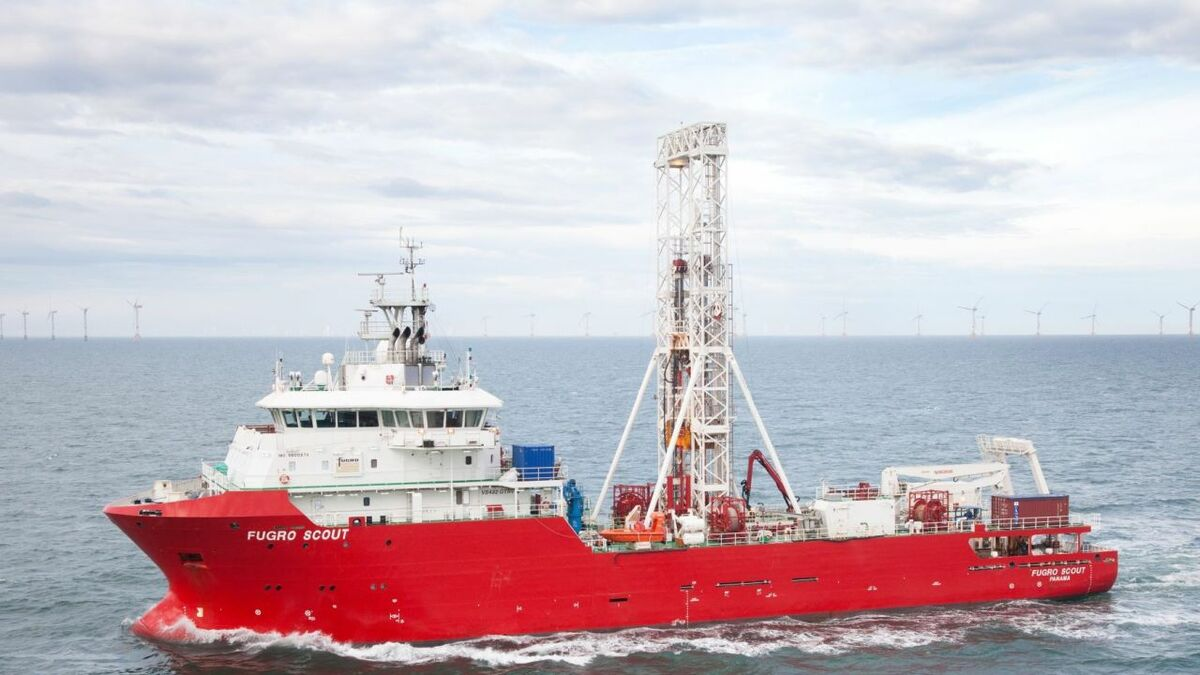 Fugro wins geotechnical site investigation contract off Dutch coast