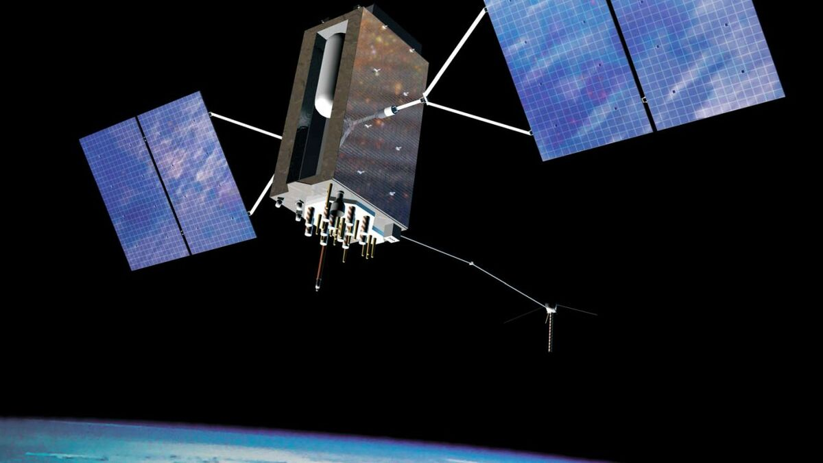 GNSS satellites, including GPS, provide position, navigation and timing information to ships