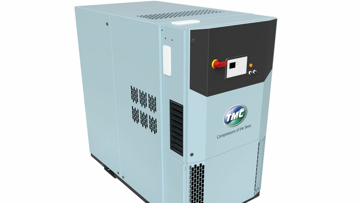 TMC's Smart Air compressors are built for low energy consumption