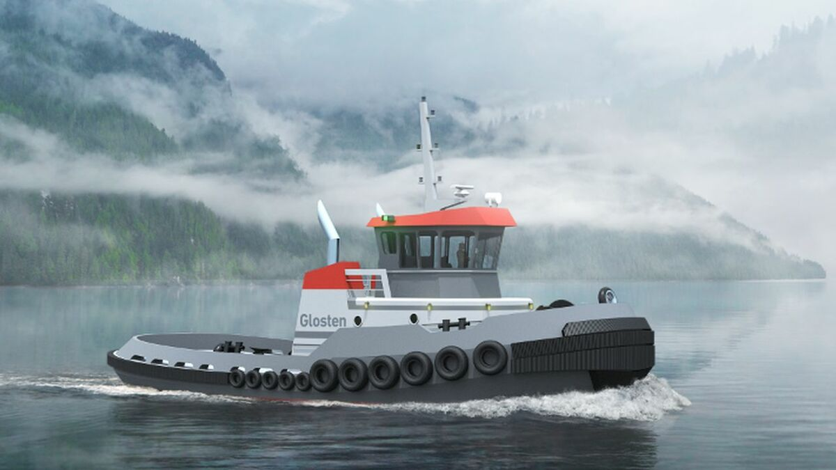 Glosten's HT-60 tug will be built for winter operations in St Lawrence Seaway