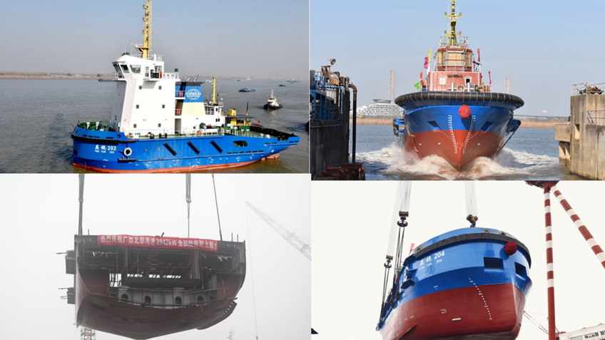 First Chinese dual-fuel ASD tug delivered