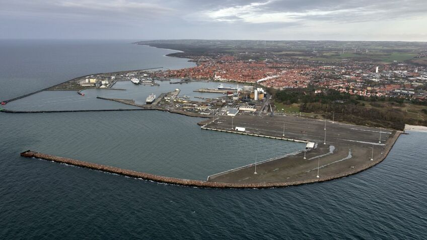 Port of Rønne built a new facility with offshore wind projects in mind