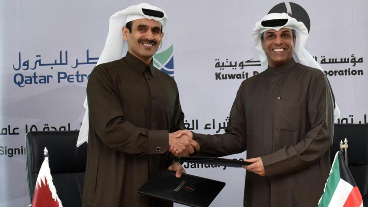 Qatar seals 15-year LNG deal with Kuwait