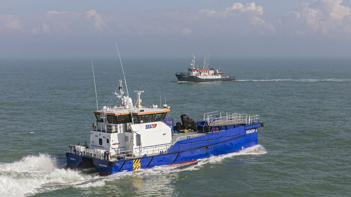 Autonomous vessel trials in the North Sea as part of MARIN's JIP with Robosys software