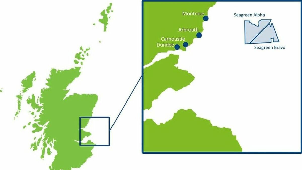 When completed, Seagreen will be Scotland's largest offshore windfarm