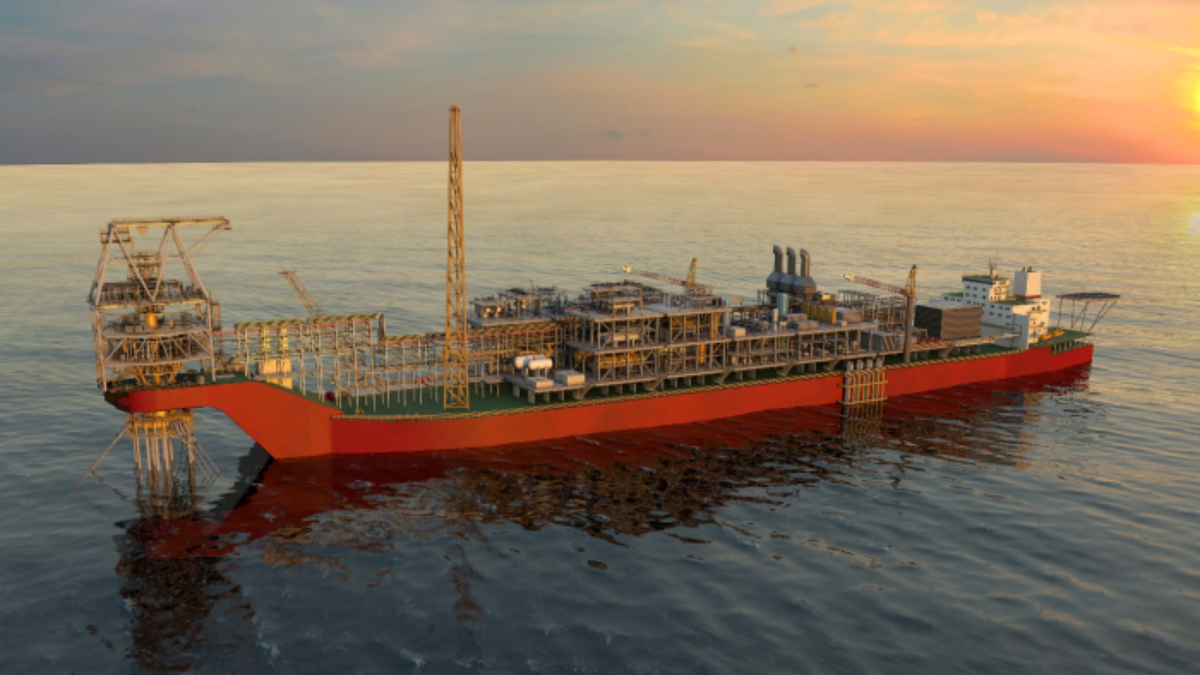 MODEC is supplying an FPSO capable of processing 100,000 bbl per day (image: Woodside)
