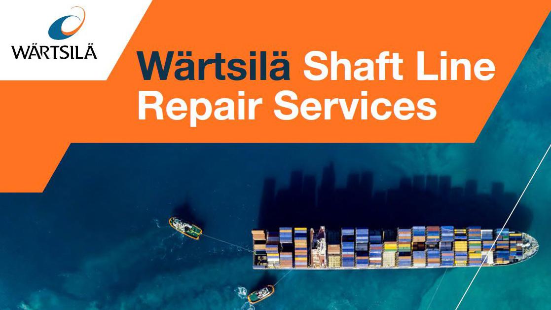 Shaft Line Repair Services Whitepaper Wartsila