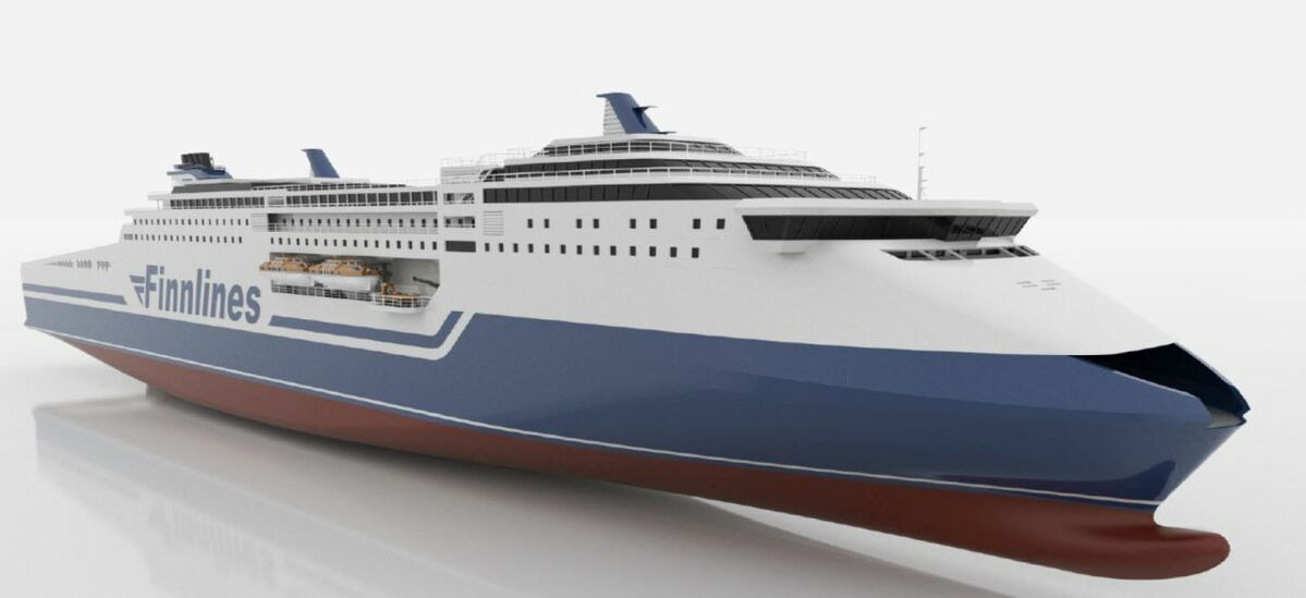 Finnlines has ordered two Superstar ropaxes (Photo: Finnlines)