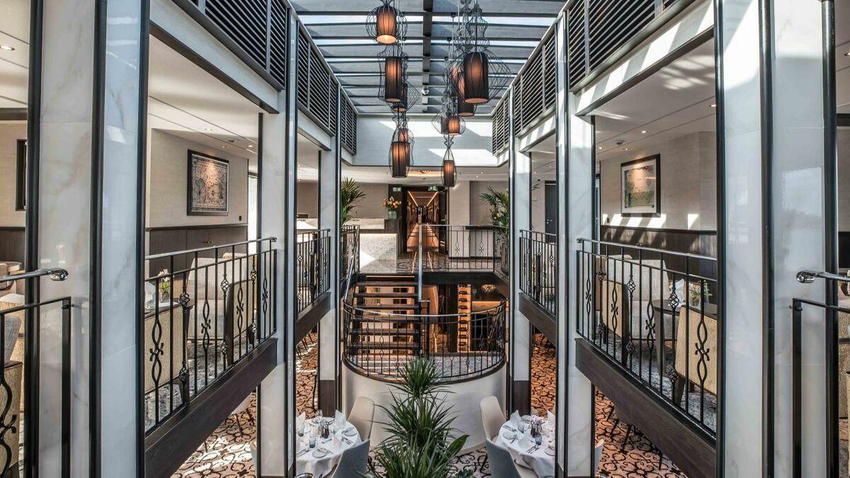 Tauck reveals interiors of new Andorinha riverboat
