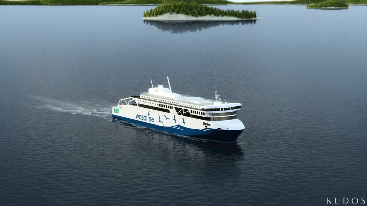 Wasaline has signed a contract with NAPA for its LNG/LBG newbuild ferry