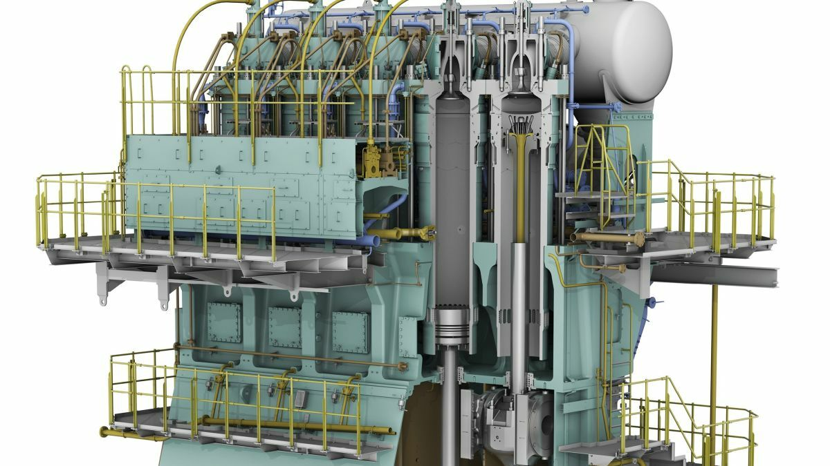 Short-stroke engines launched for vessels where space is at a premium