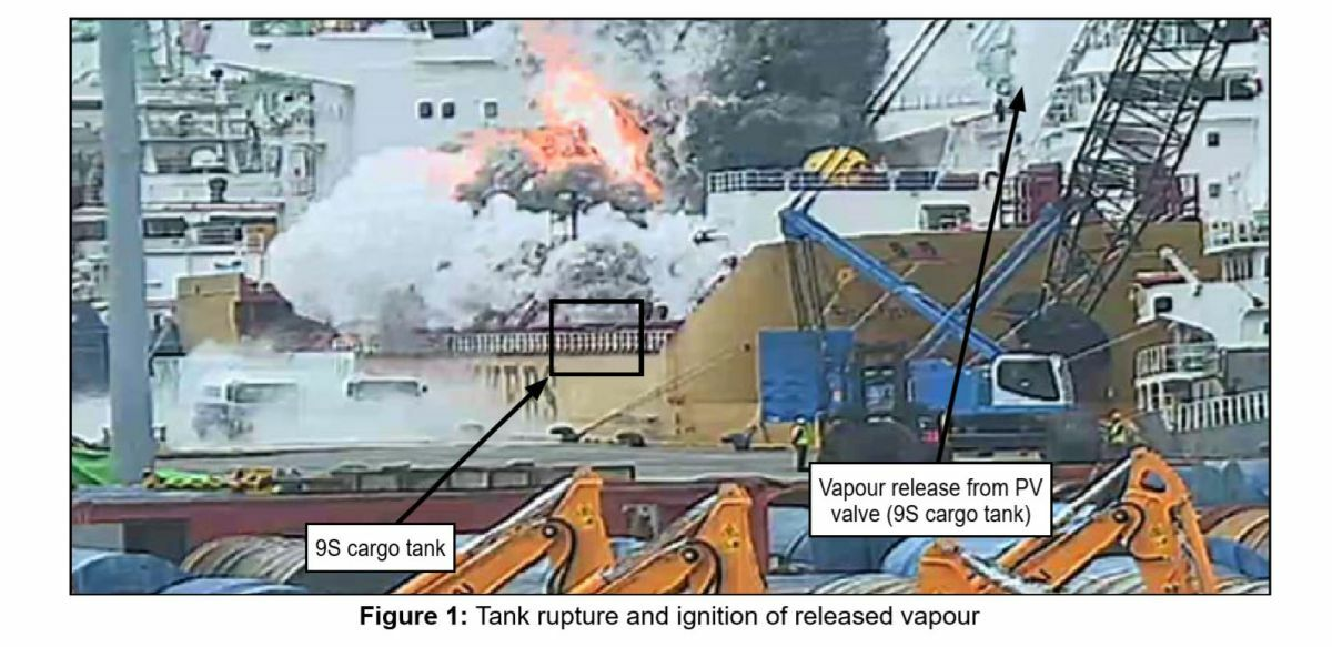 Stolt Groenland explosion may have resulted from runaway polymerisation of a styrene monomer cargo