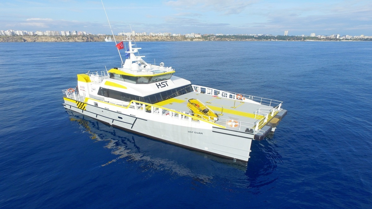 High Speed Transfers takes delivery of fourth Damen FCS 2710