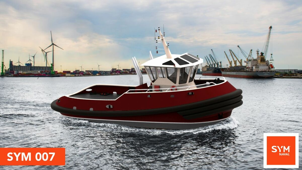 Boluda Towage subsidiary Pontemar has ordered a SYM 007 harbour tug from SYM Naval