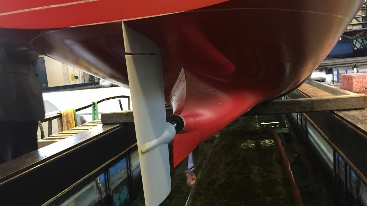 CB Adriatic's fuel-saving asymmetrical stern