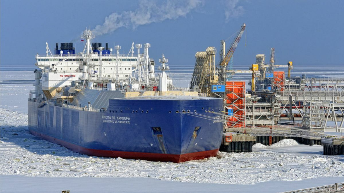 Christophe de Margerie was the first of 15 Arc7 ice-class LNG carriers for Yamal LNG