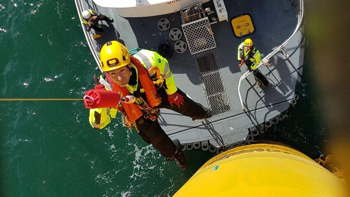 Pict Offshore's Get Up Safe system makes transfers safer