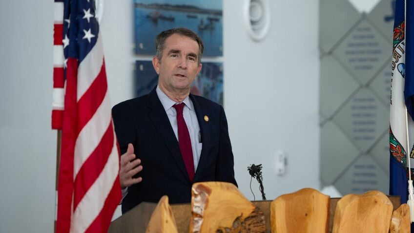 Governor Northam said Virginia could become a leader in the US offshore wind industry