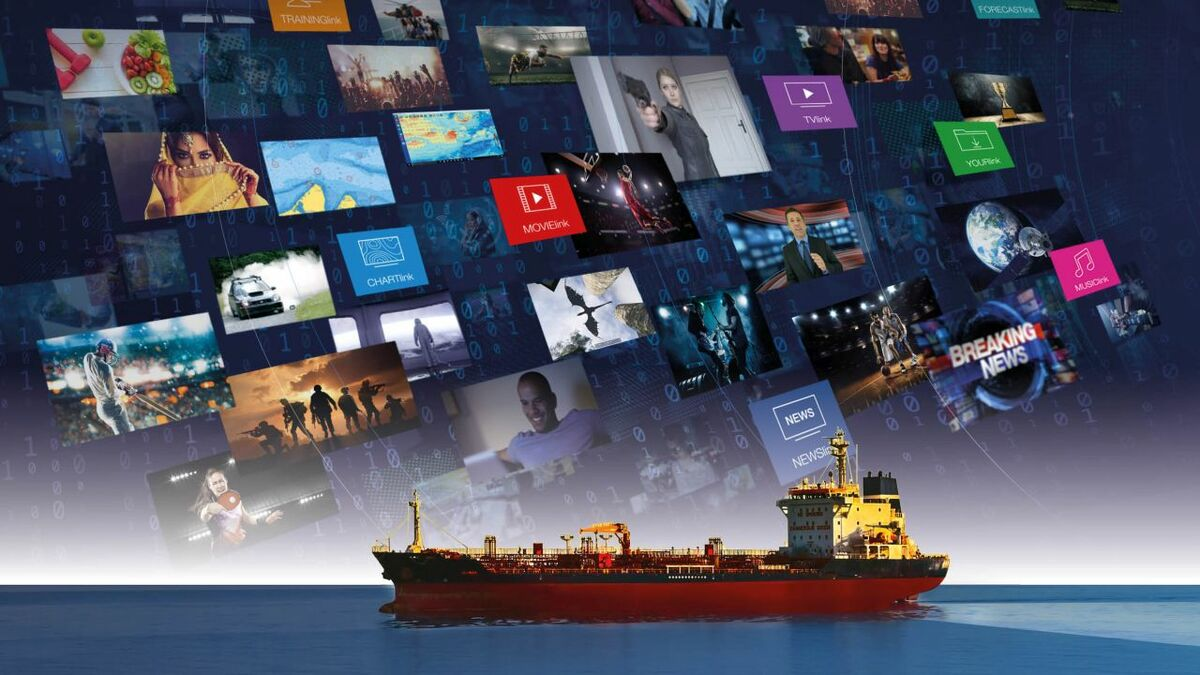 KVHLink media content delivered to ships over IP-MobileCast and VSAT