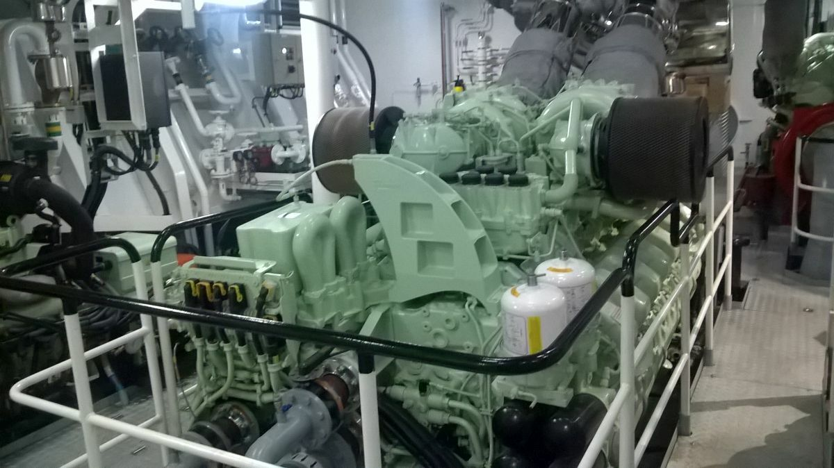 Rolls-Royce supplied MTU Series 4000 high-speed diesel engines for Svitzer Hermod
