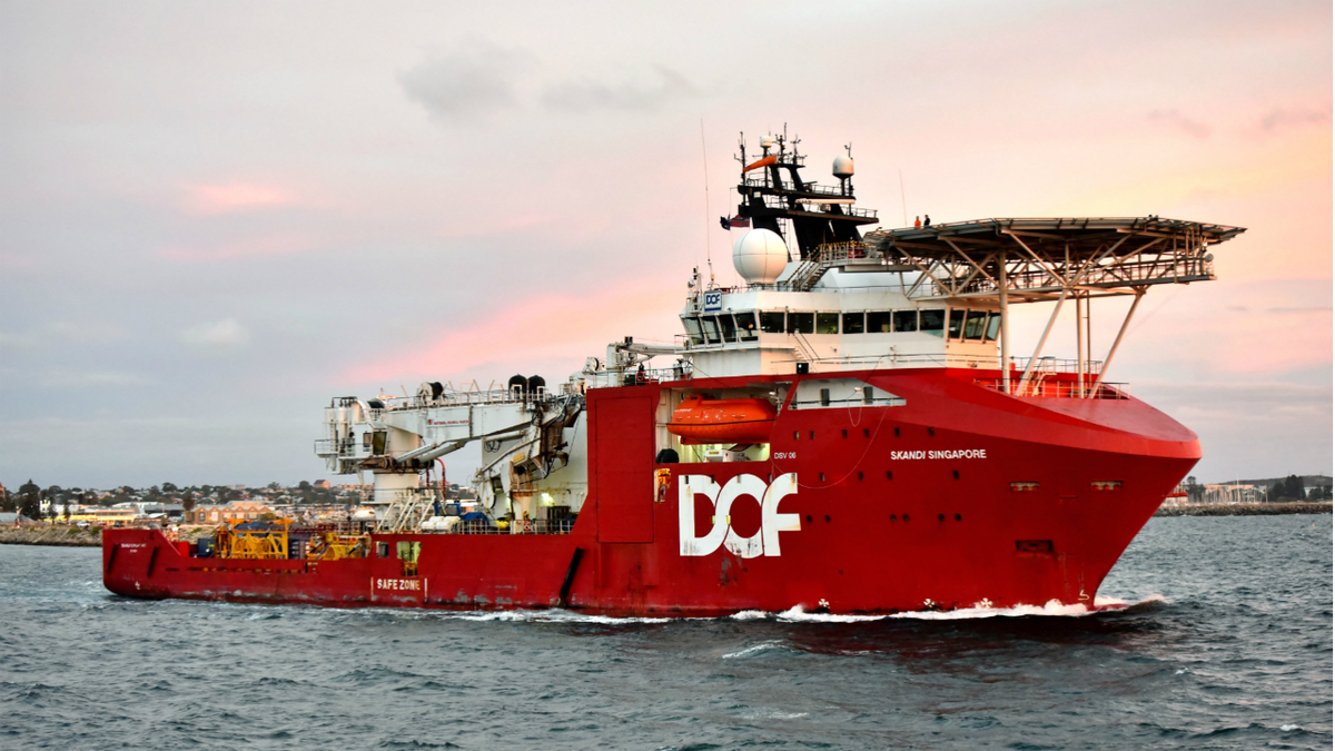 Dive support vessel deployed for Woodside subsea project