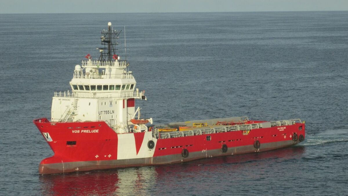 VOS Prelude is a 2010-built UT-755 LN DP2 PSV, managed and operated by VOS Den Helder