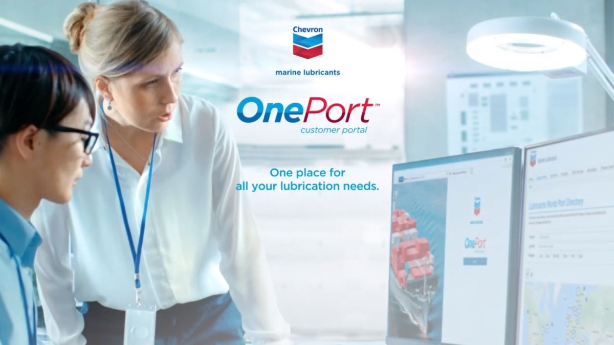 Chevron OnePort promotes efficiency in marine lubricant procurement