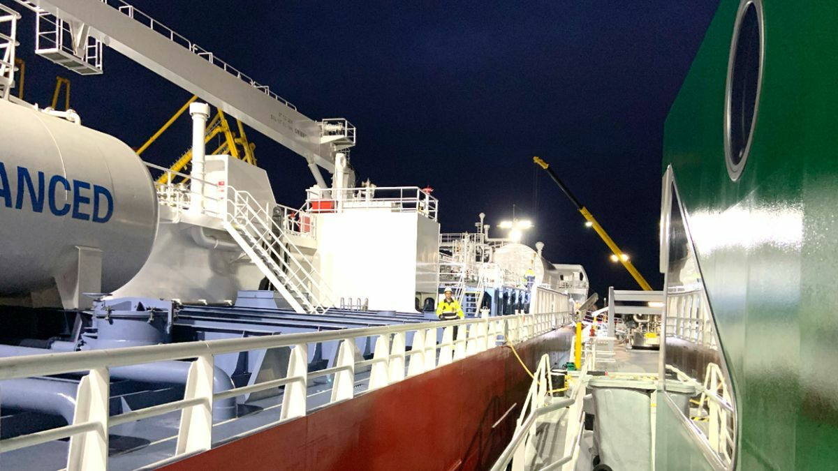 Titan LNG is expanding its LNG bunkering capacity in the ARA region