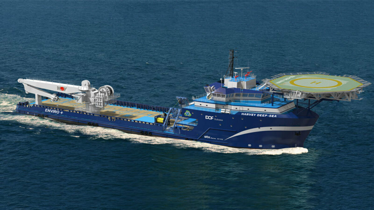 Harvey Deep Sea - awarded a contract in the Gulf of Mexico