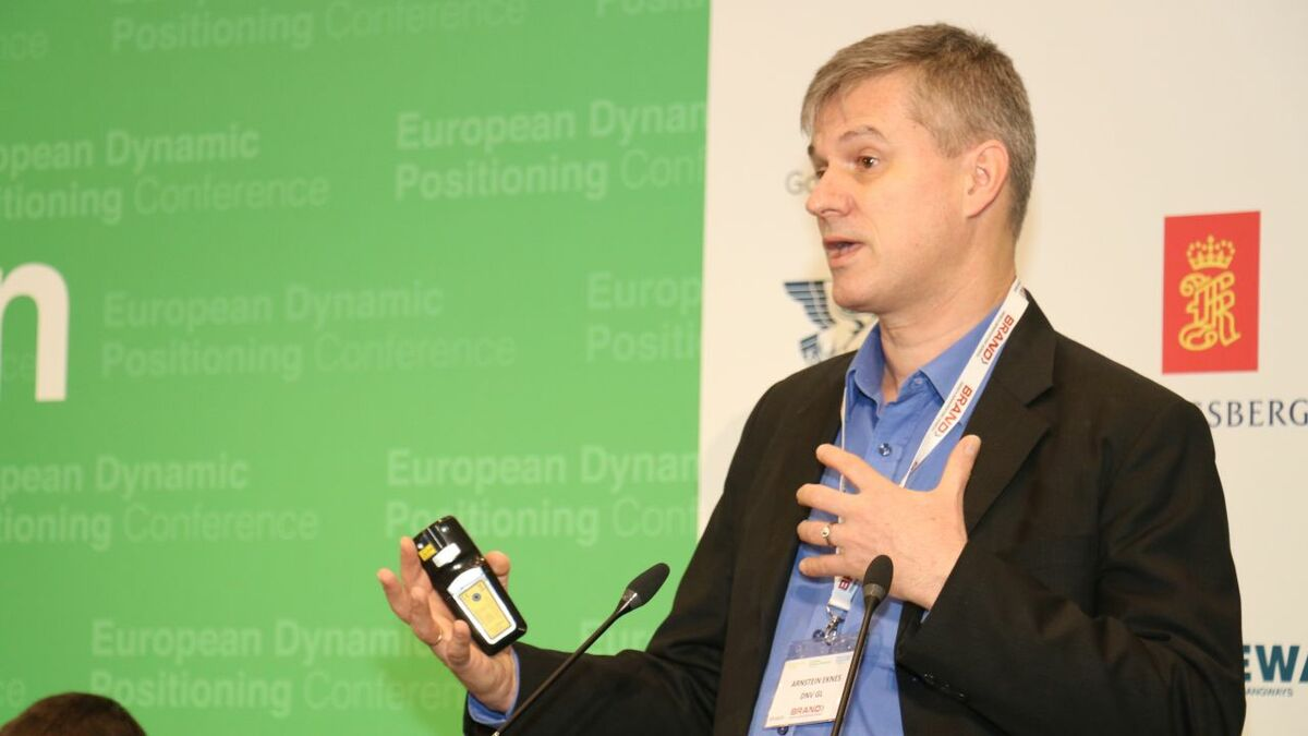"Arnstein Eknes (DNV GL): """"DP is technology for remote control hybrid tugs and vessels for port oper"