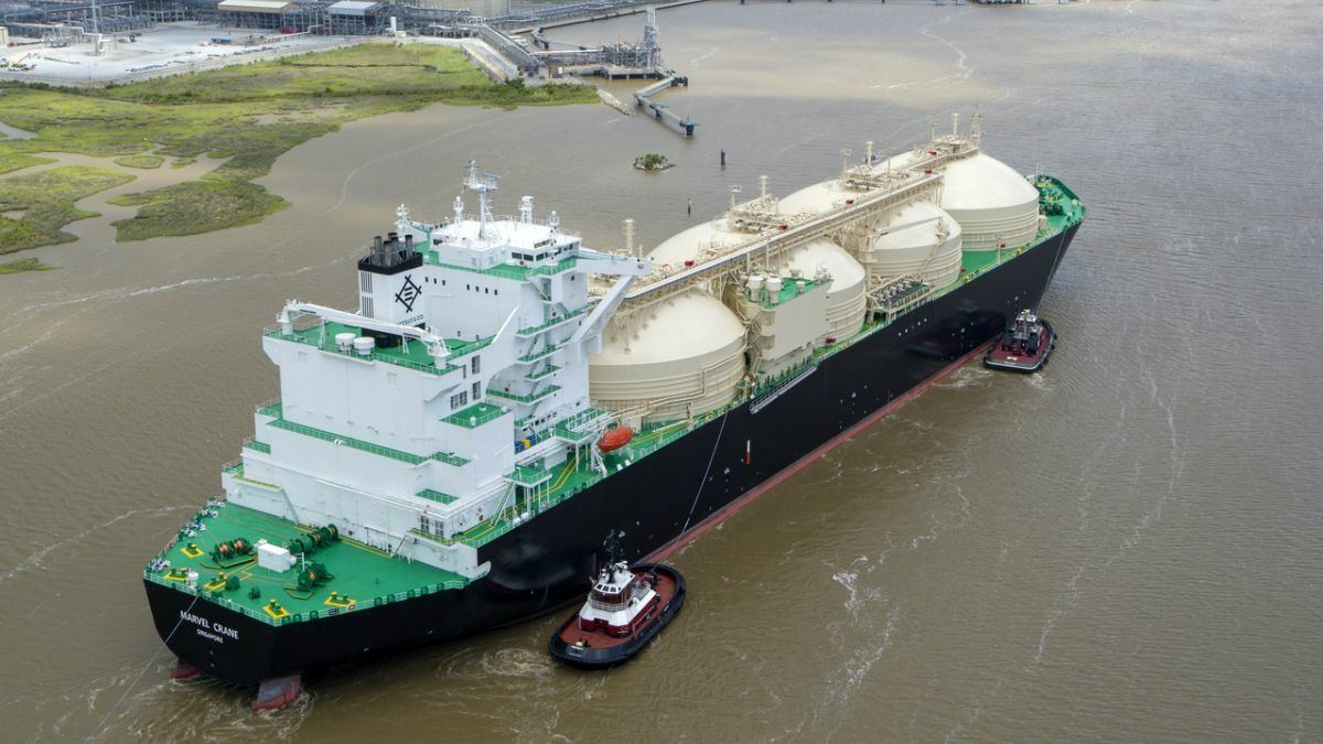 US becomes third largest LNG exporter