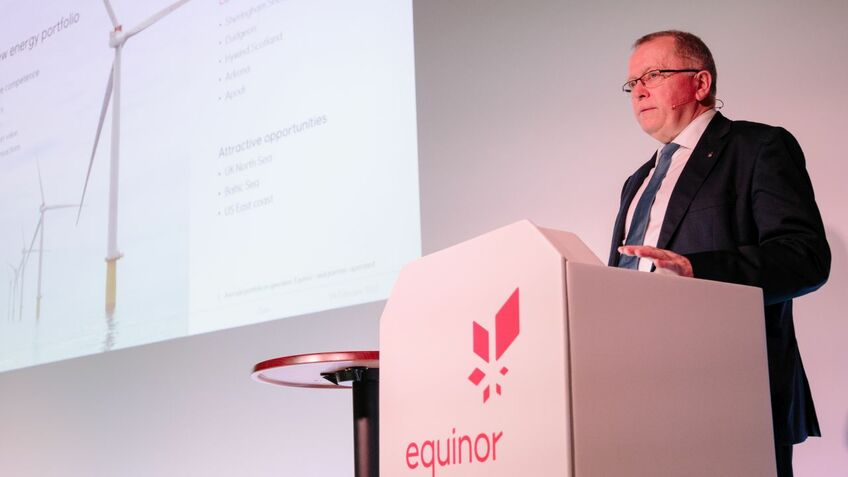 Equinor targets tenfold increase in renewables