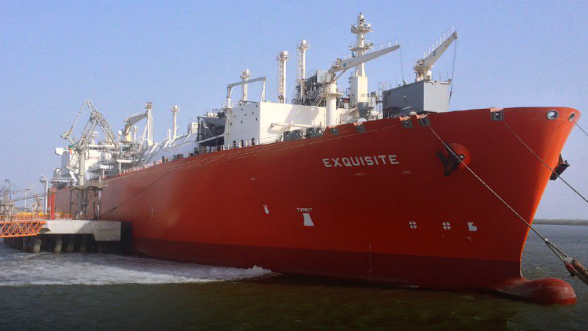 Excelerate's Exquisite meets about 15% of Pakistan's gas demand