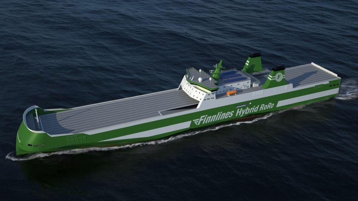 The new Finnlines ferries will feature Wärtsilä's Hybrid Power Conversion systems