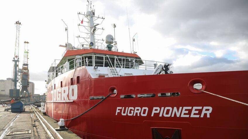Fugro Pioneer will focus on geophysical surveys for the massive windfarm