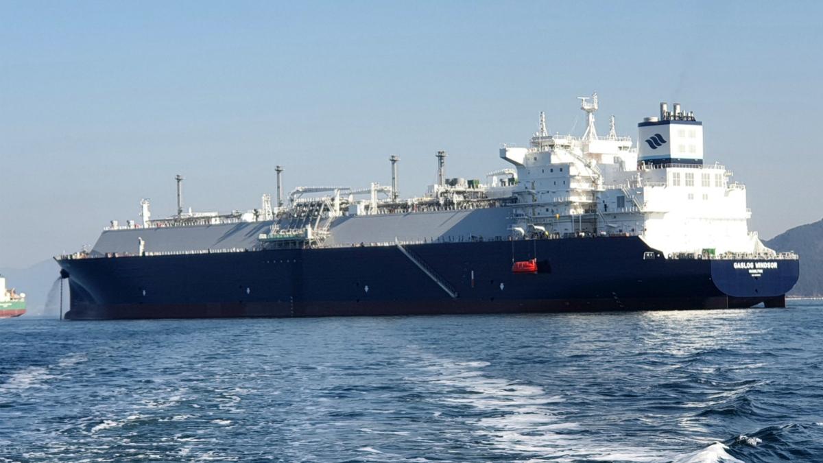 GasLog Windsor is set to undergo sea trails at Samsung Heavy Industries