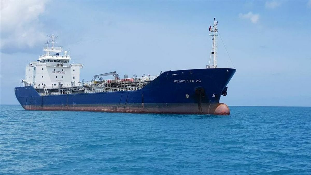 Henrietta PG: One of the specialist shallow-draft product tankers in the Pritchard Gordon fleet