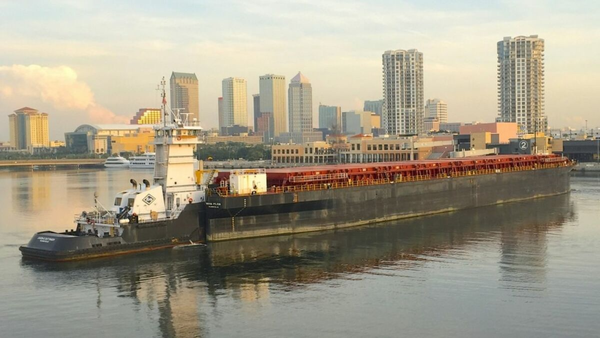 Kirby operates tugboats and barges for coastal and inland bulk transportation