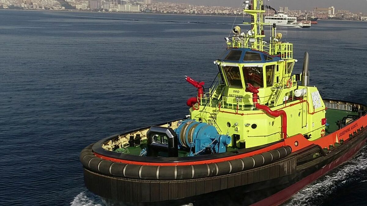 GPHA in Ghana has started operating tugs built by TOR to a Robert Allan RAstar 3300 design