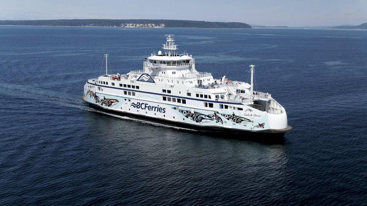 New award expands BC Ferries' LNG-fuelled fleet