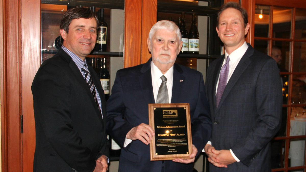 Former OMSA chairman honoured with lifetime achievement award
