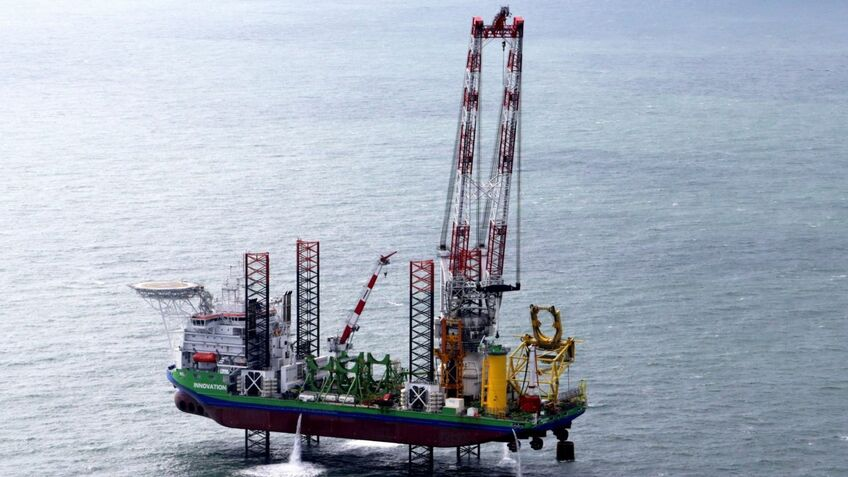 The innovative drill will be used from DEME's vessel Innovation
